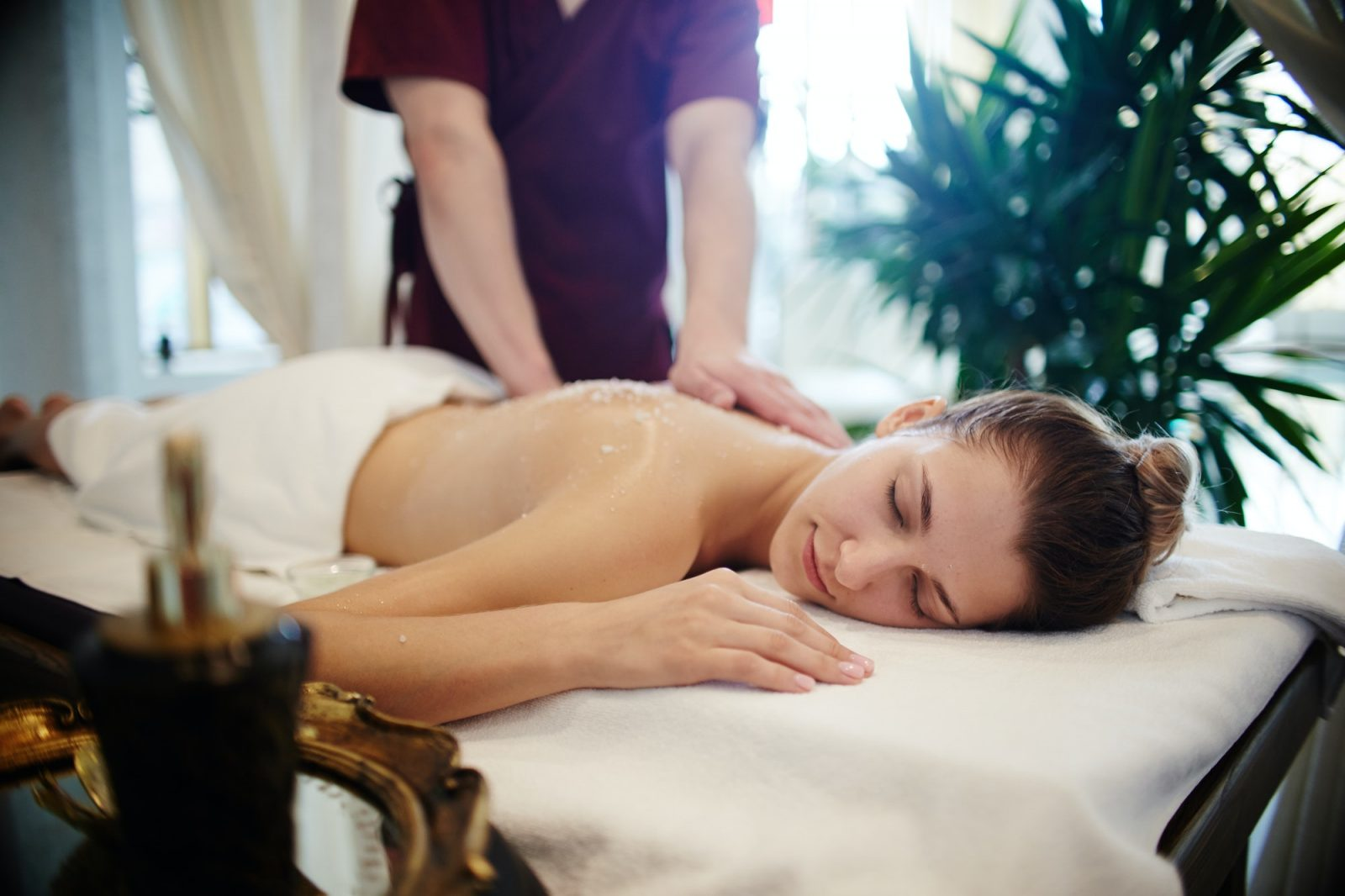 Relaxing Massage in SPA